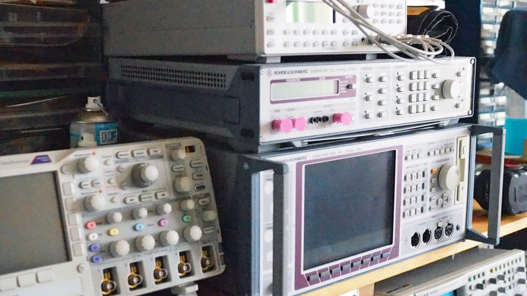 Norma Audio Firmenbericht Oszillioskop