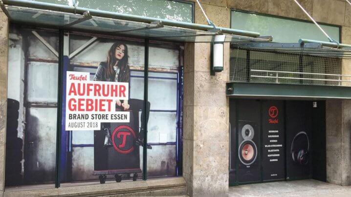 Teufel Flagship Store Essen Eröffnung