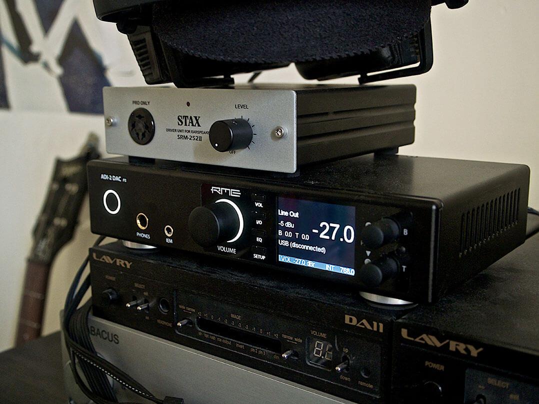 RME ADI-2 DAC und weitere Elektronik