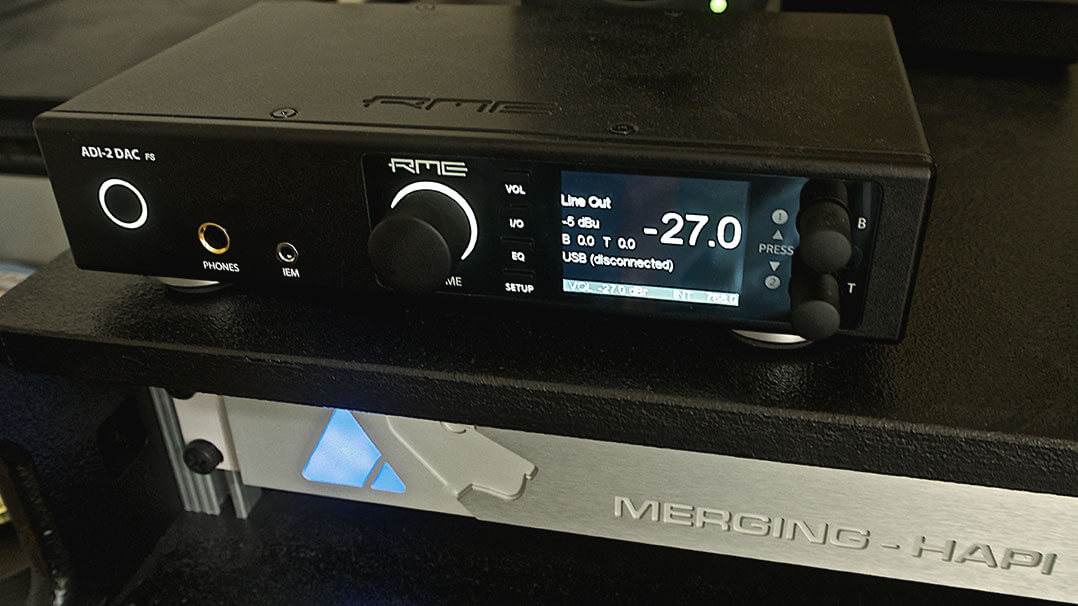 RME ADI-2 DAC & Merging Technology