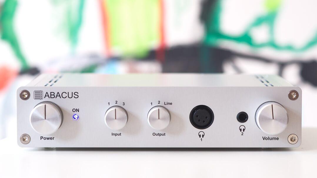 Abacus Cuffino Kopfhörerverstärker von vorne