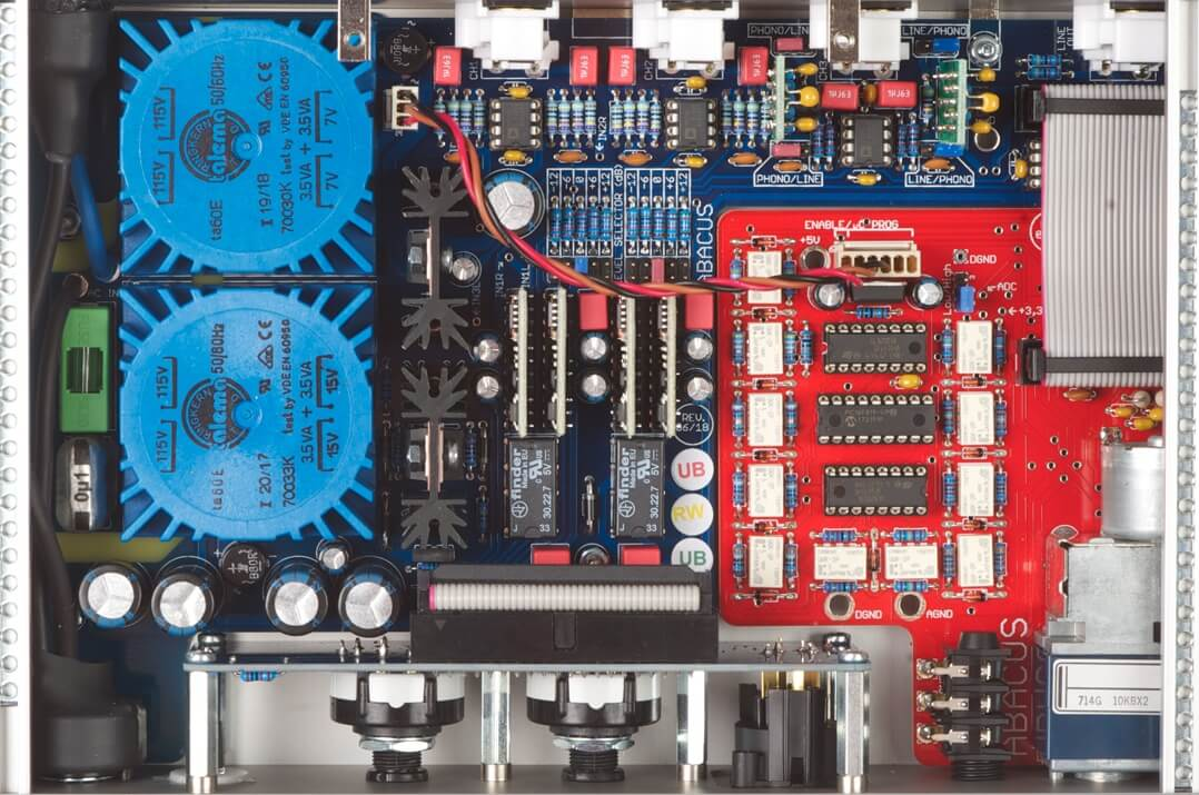 Abacus Cuffino Kopfhörerverstärker Platine