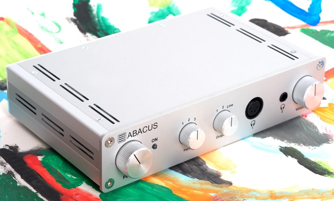 Abacus Cuffino Kopfhörerverstärker oben seitlich