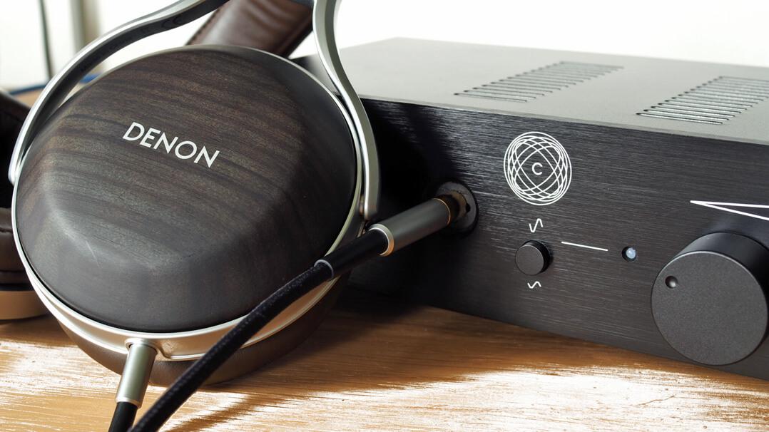 Denon AH-D5200 mit Meier Audio