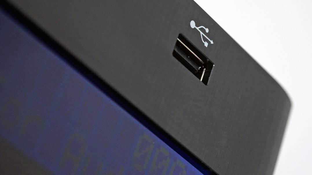 Krell Vanguard Universal DAC USB-A-Anchluss