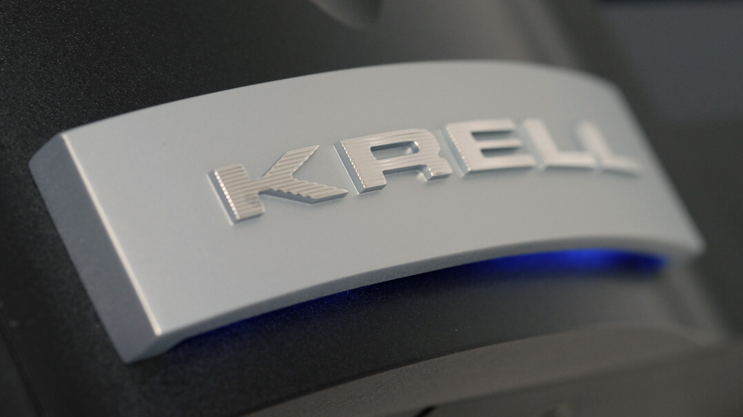 Krell Vanguard Universal DAC Front Logo