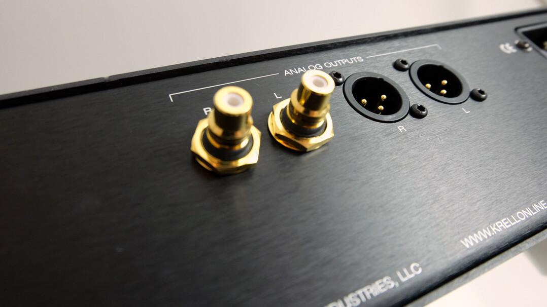 Krell Vanguard Universal DAC analoge Schnittstellen