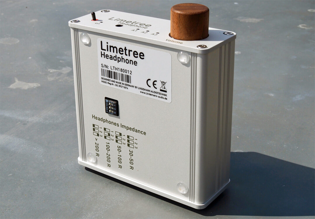 Lindemann Limetree Headphone DIP-Schalter