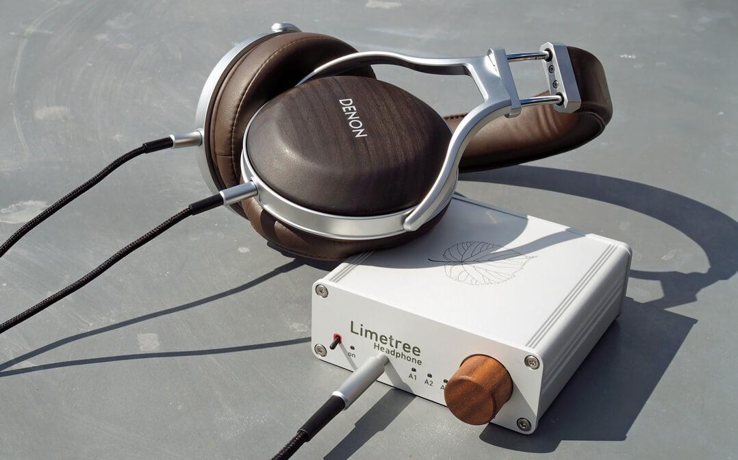 Lindemann Limetree Headphone mit Denon AH-D5200