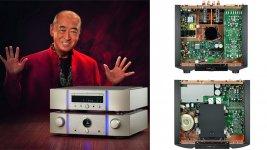 Marantz SA-KI Ruby (SACD/CD-Player) und Marantz PM-KI Ruby (Vollverstärker)