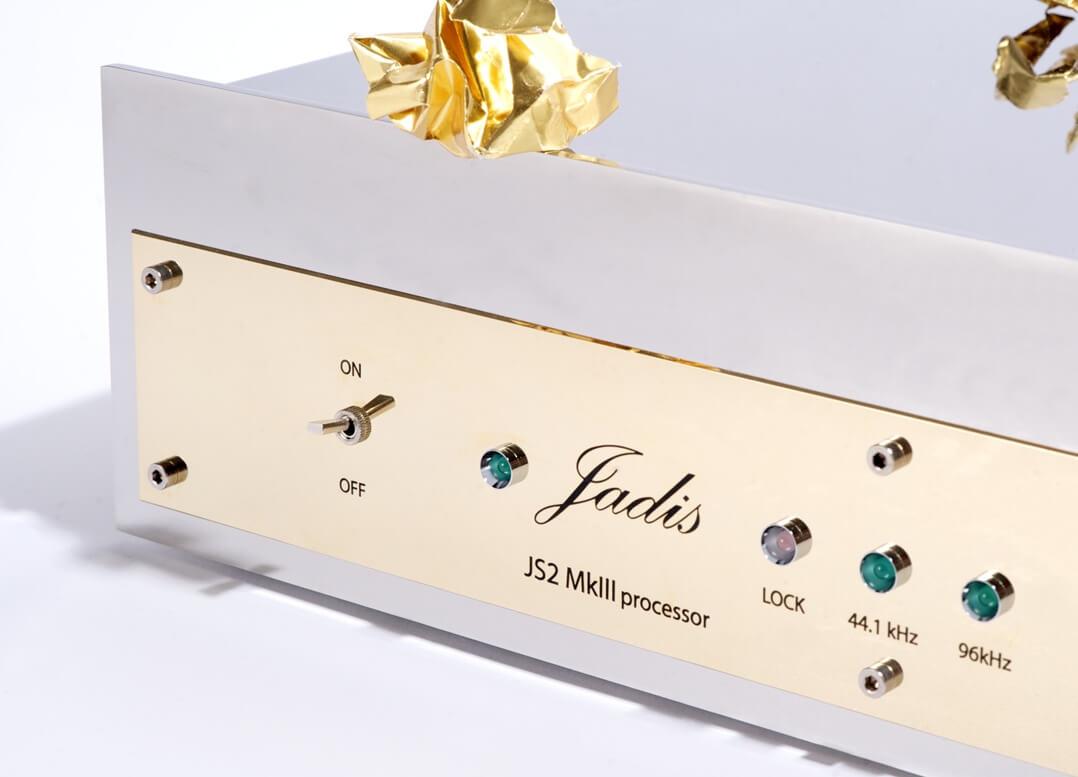 Jadis JS2 MKIII D/A-Wandler und DAC - Front Detail