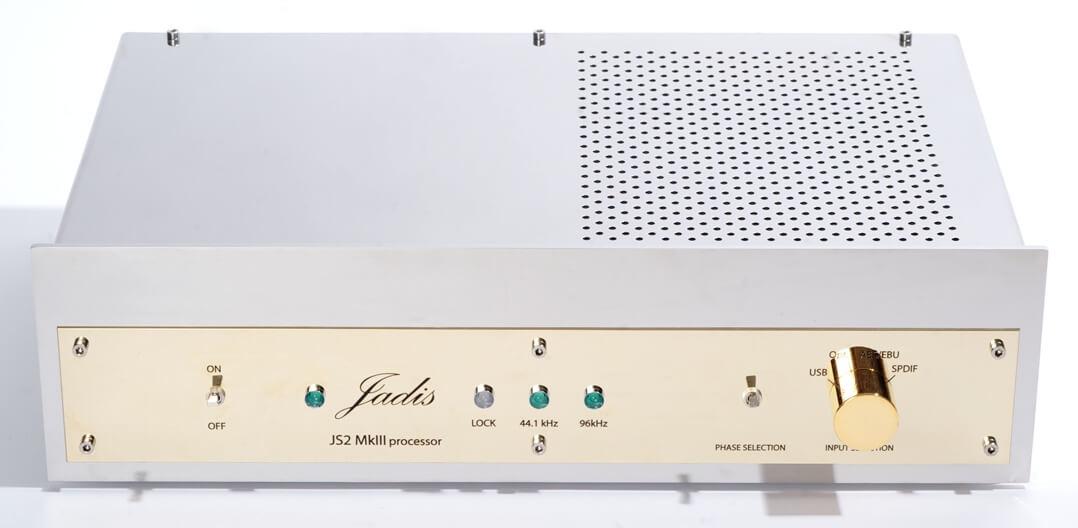 Jadis JS2 MKIII D/A-Wandler und DAC - frontal