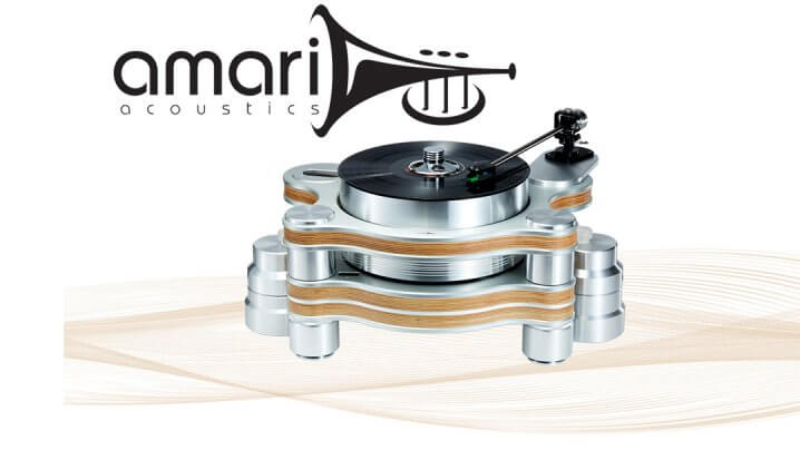Amari Acoustics Schallplattenspieler