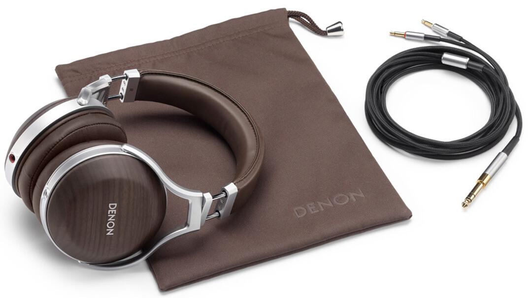 Denon AH-D9200 Referenz-Kopfhörer mit Zubehör