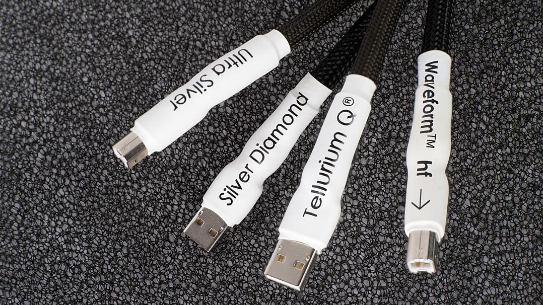Tellurium Q Ultra Silver & Silver Diamond Hifi-USB-Kabel