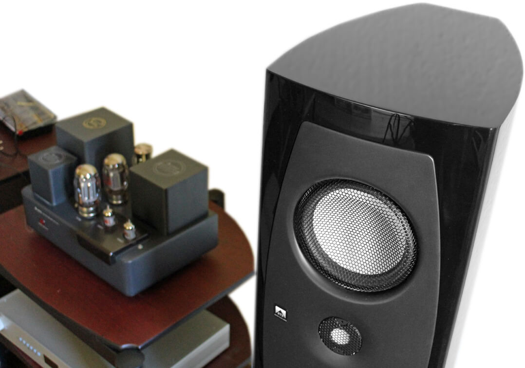XTZ Divine Delta Lautsprecher mit Röhrenverstärker