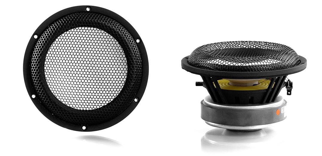 XTZ Divine Delta Lautsprecher Bass-Mittel-Töner ausgebaut