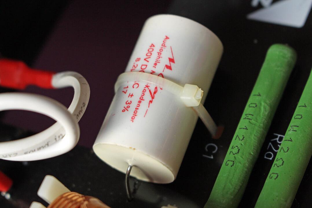 XTZ Divine Delta Lautsprecher Kondensator von Mundorf