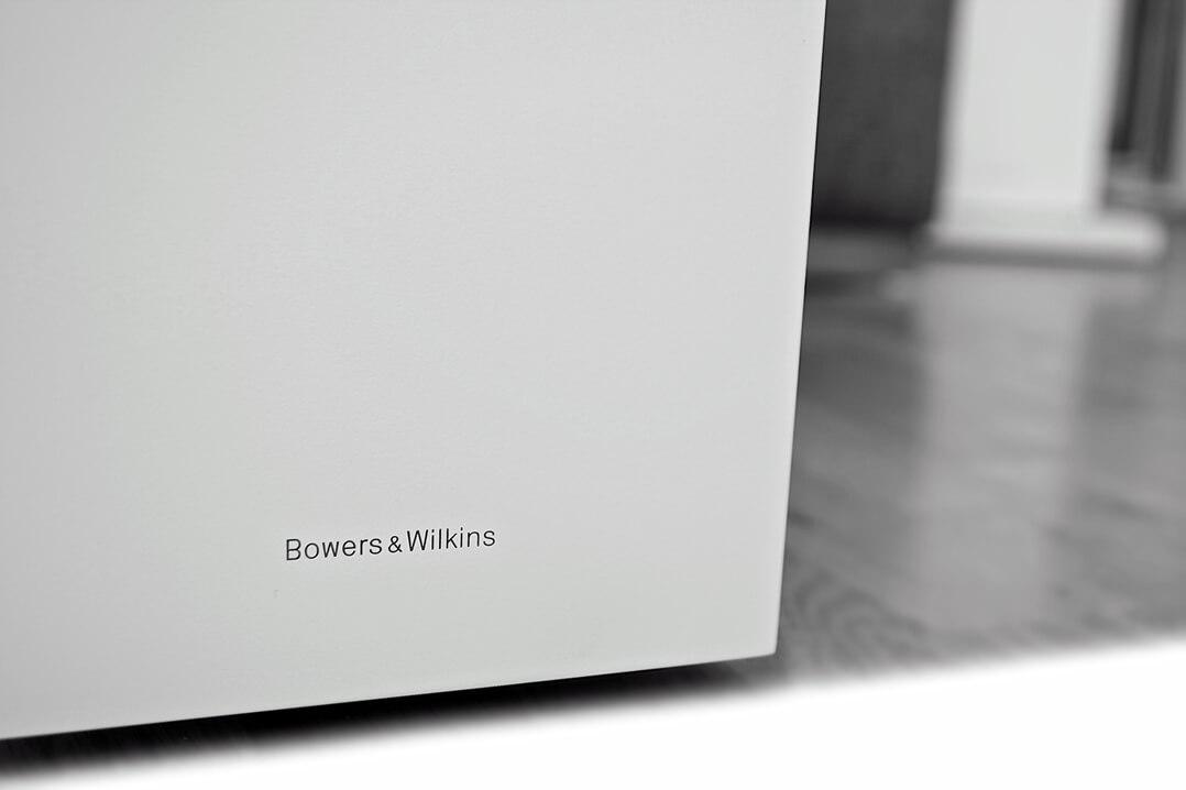 B&W 603 Lautsprecher Schriftzug