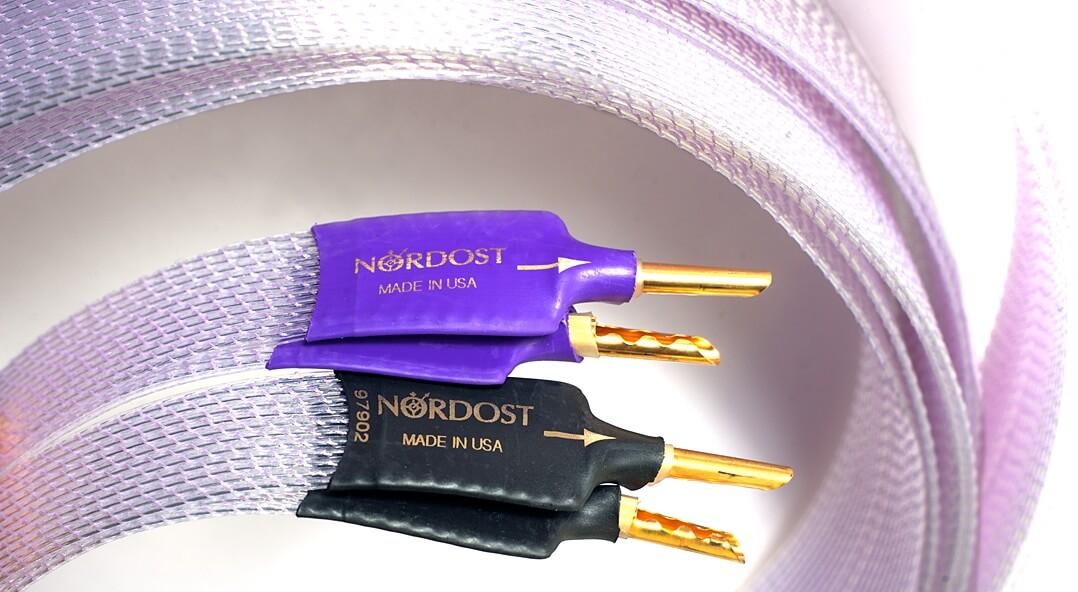 Nordost Frey 2 Lautsprecherkabel Stecker