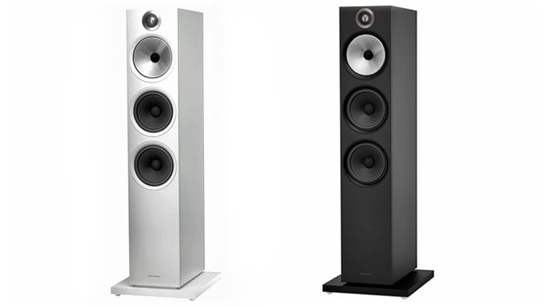 B&W 603 Lautsprecher Farb-Ausführungen