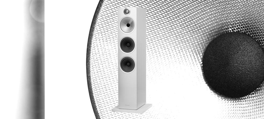 B&W 603 Lautsprecher Front komplett