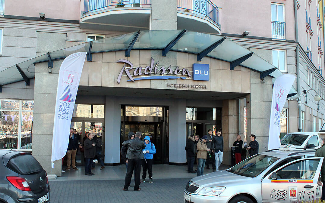 Messehotel 1: das Radisson Blu Sobieski