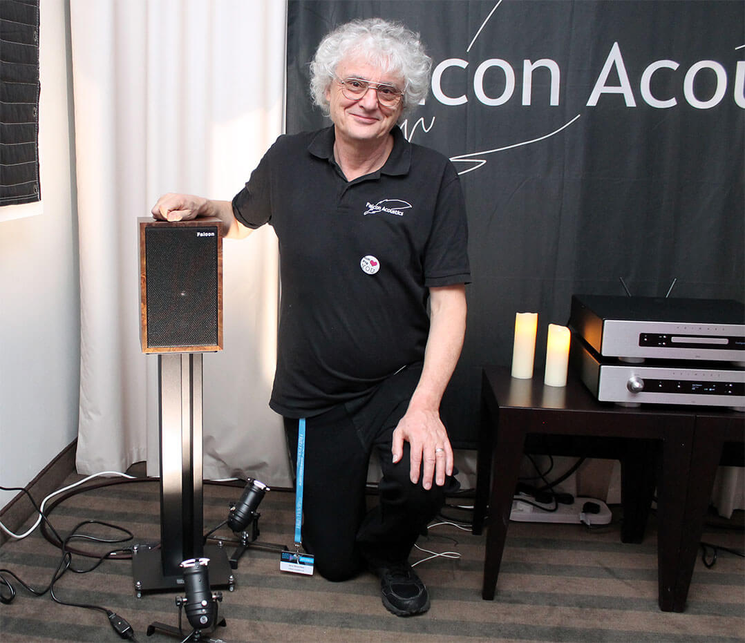 Jerry Bloomfield von Falcon Acoustics