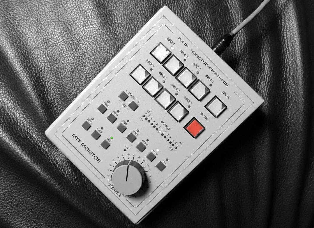 Kabel-Fernbedienung für Funk MTX Monitor