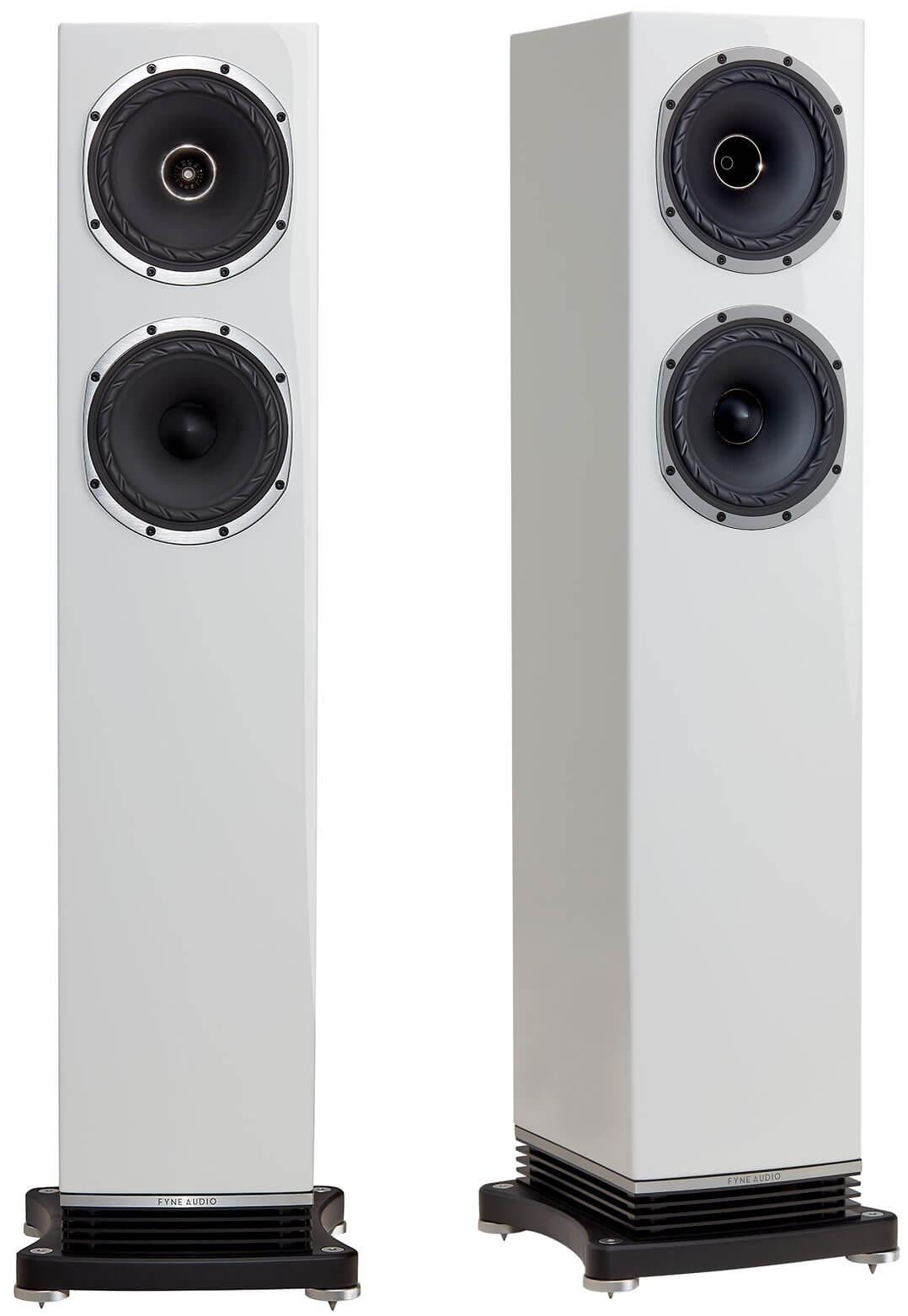 Fyne Audio F501 in Weiß