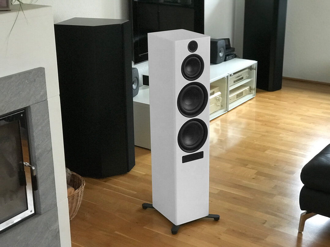 Nubert nuPro X-8000 im Wohnraum