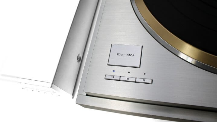 Technics SL-1000R Start/Stopp