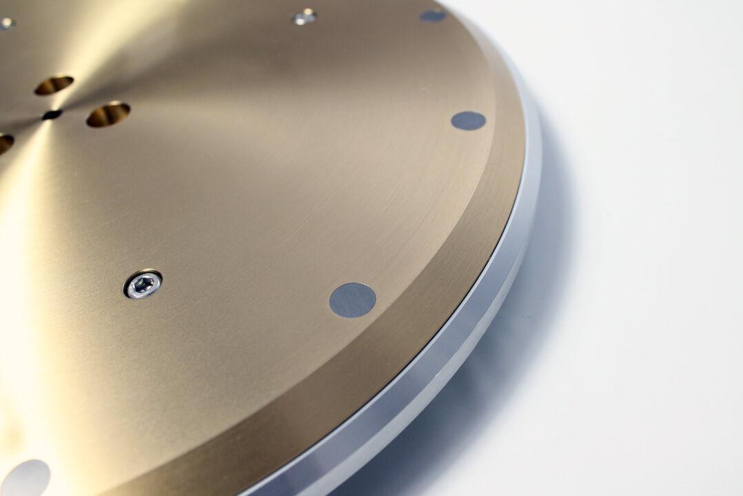 Technics SL-1000R Plattenteller mit Gewichten