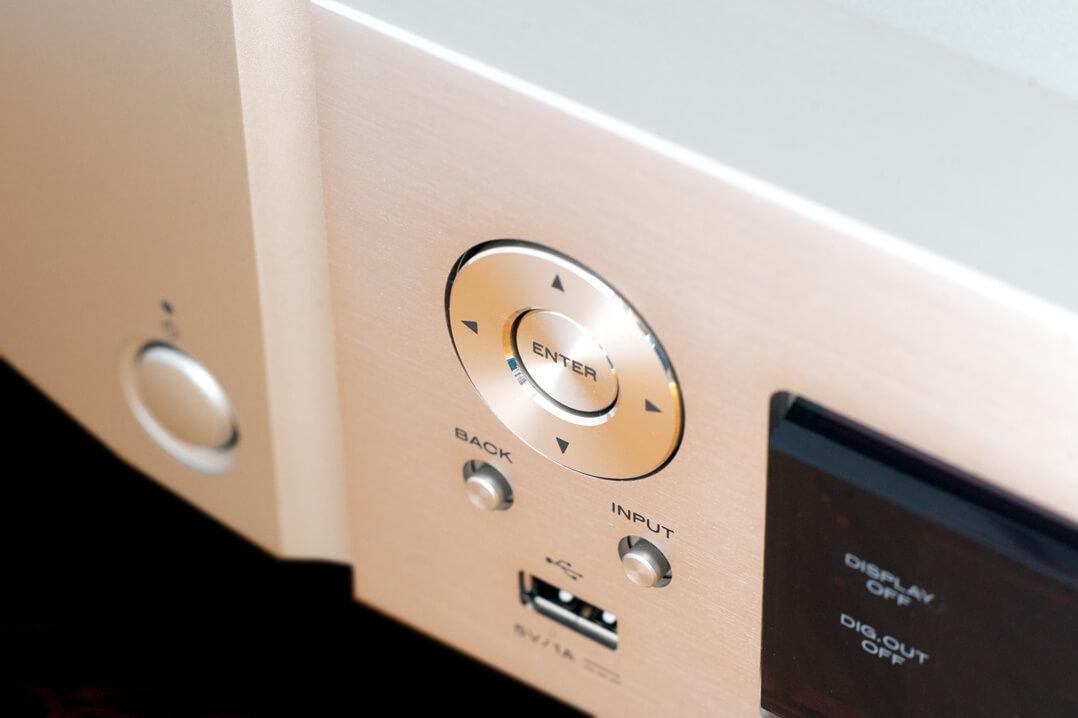 Marantz NA6006 Netzwerkplayer / Streamer Steuerung