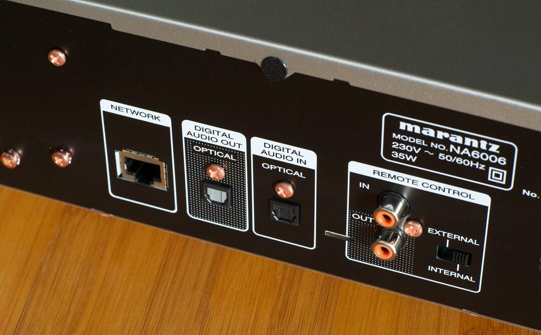 Marantz NA6006 Netzwerkplayer / Streamer Netzwerkanschluss