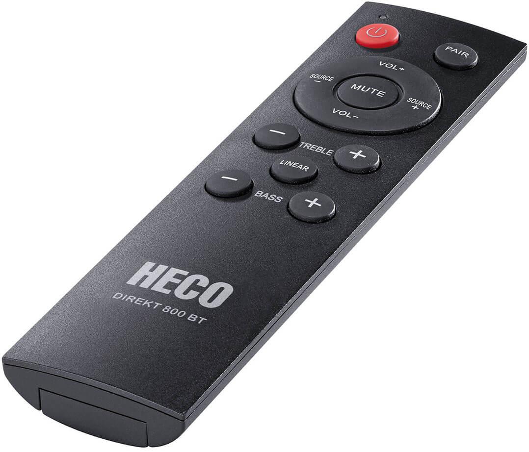 Fernbedienung der Heco Direkt 800 BT