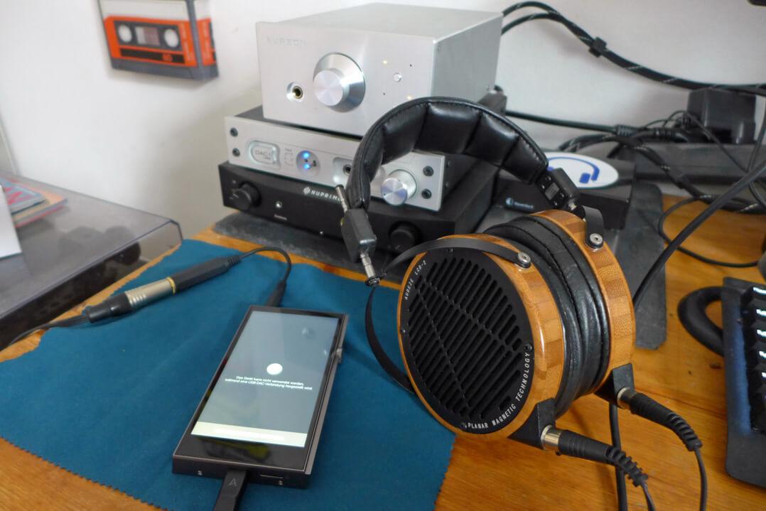 Astell & Kern A&futura SE100 Testequipment