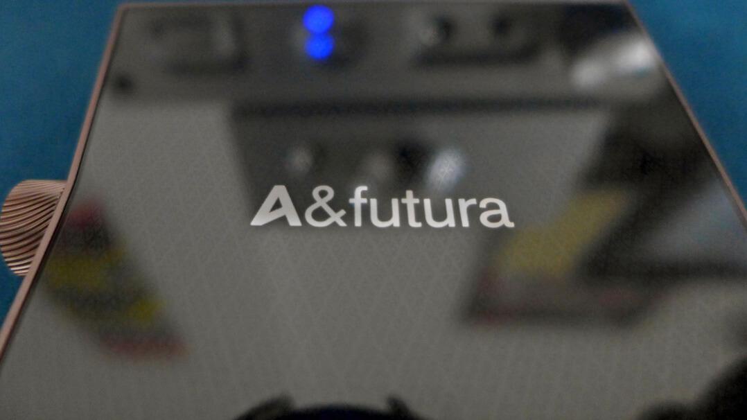 Astell & Kern A&futura SE100 Rückseite