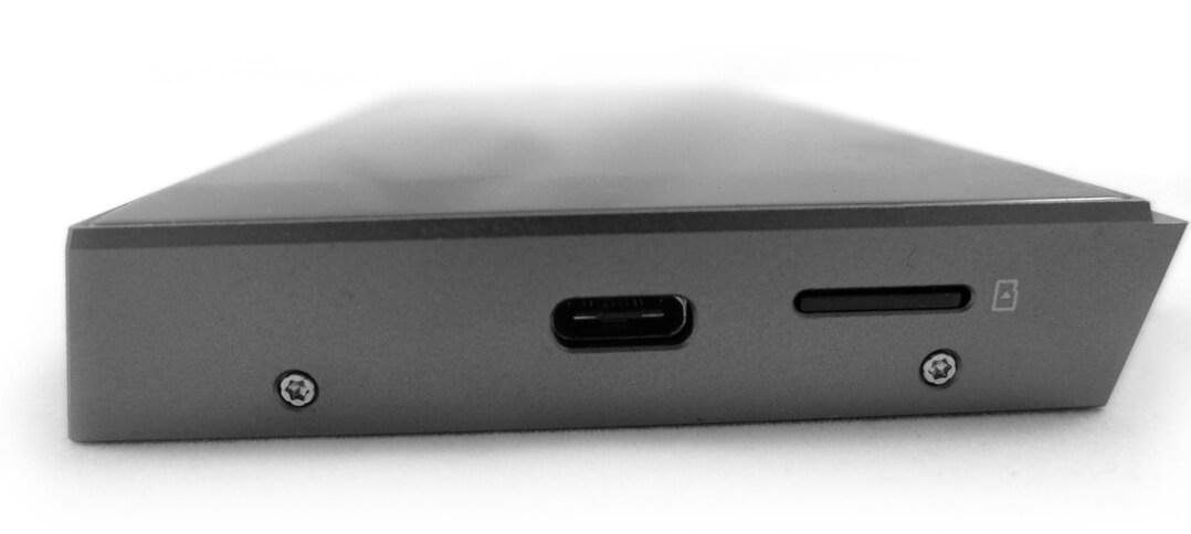 Astell & Kern A&futura SE100 USB-C-Schnittstelle