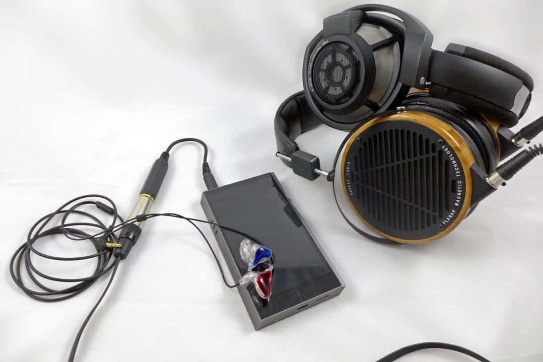 Astell & Kern A&futura SE100 mit Audeze-Kopfhörer