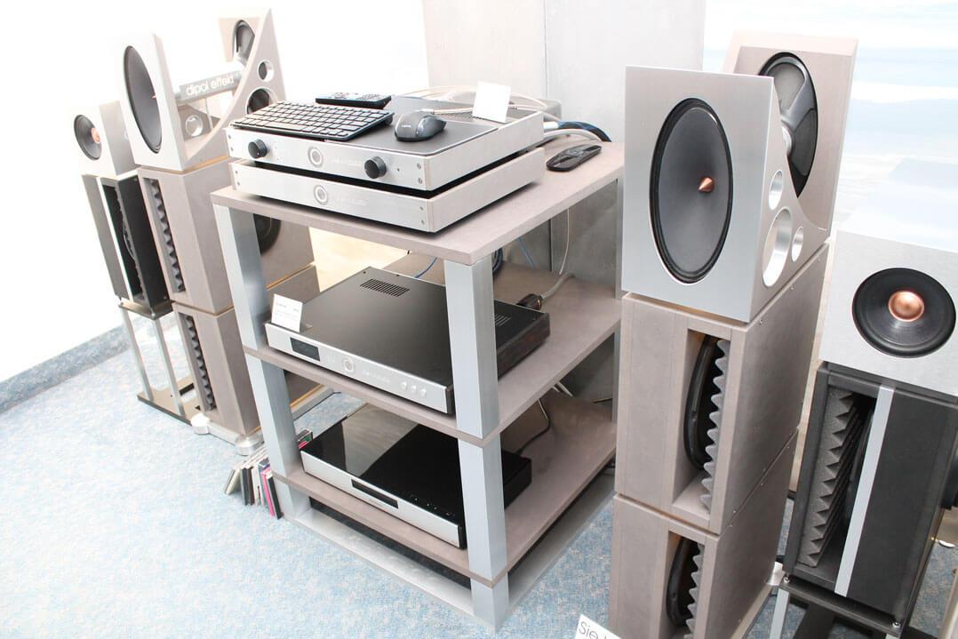 Anlage von Oks Audio