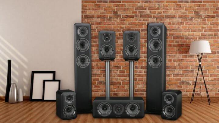Wharfedale D300 Lautsprecherserie
