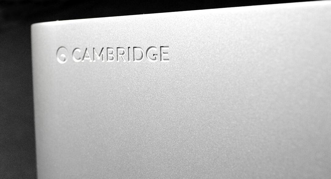 Cambridge Edge A Vollverstärker mit DAC Logo