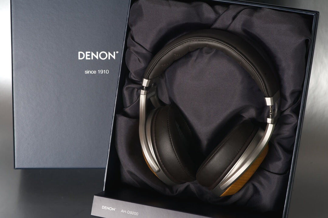 Denon AH-D9200 Kopfhörer mit Karton/Aufbewahrung