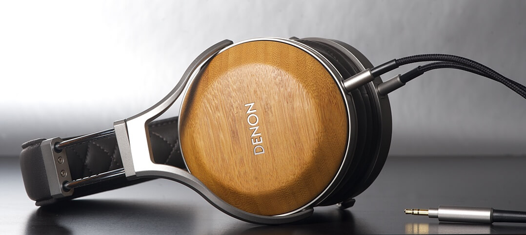 Denon AH-D9200 Kopfhörer Hörmuschel und Bügel
