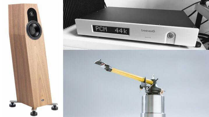 QLN P1 und P3 Lautsprecher, Linnenberg Satie DAC und Sikora Kevlar Tonarm