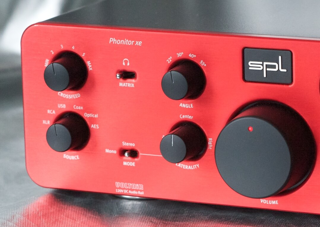 SPL Phonitor xe Bedienfeld Front