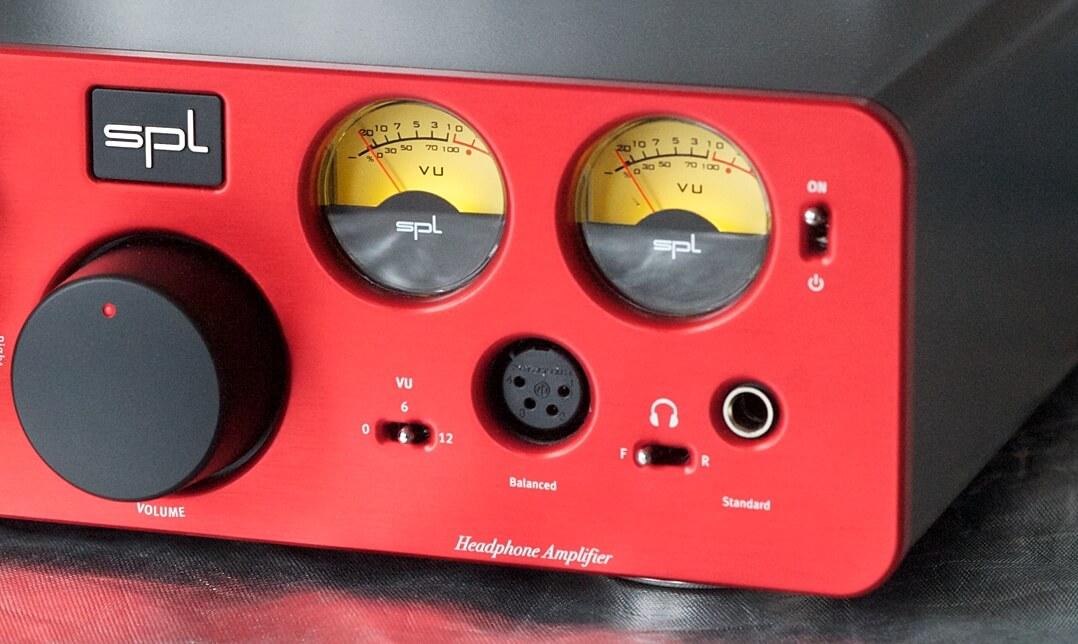 SPL Phonitor xe Pegelanzeige und Lautstärkeregler