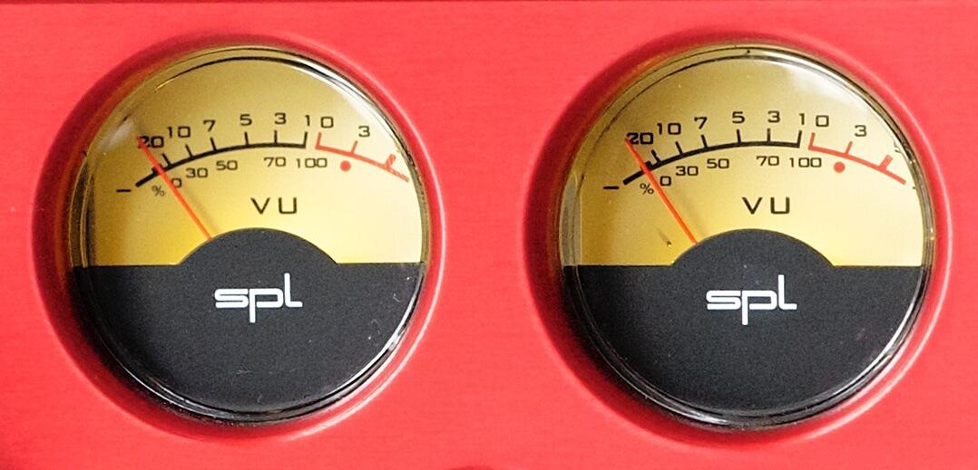 SPL Phonitor xe Pegelanzeige