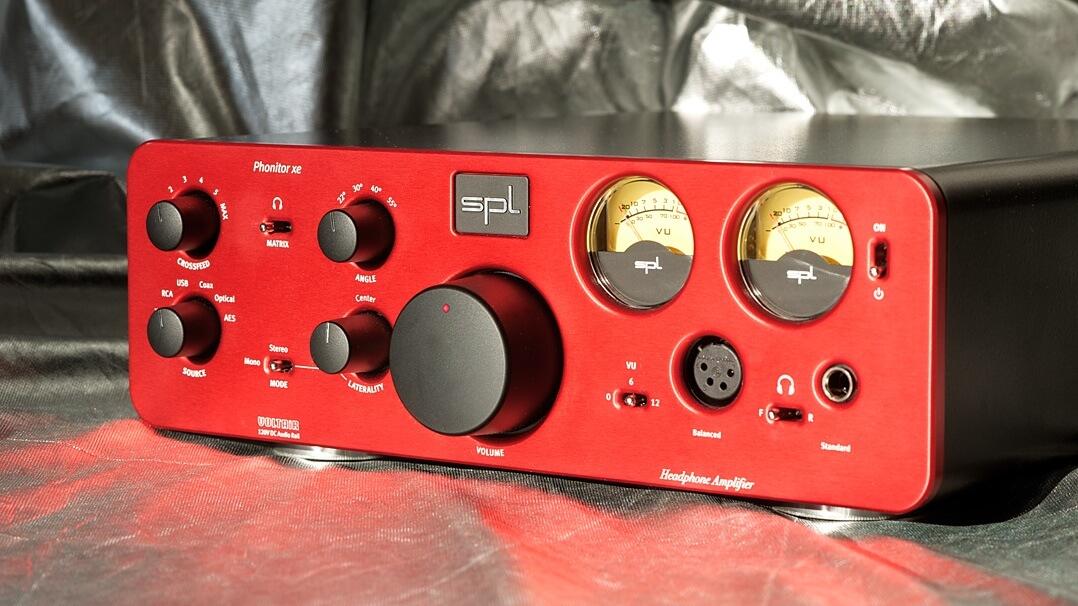 SPL Phonitor xe Kopfhörerverstärker mit D/A-Wandler